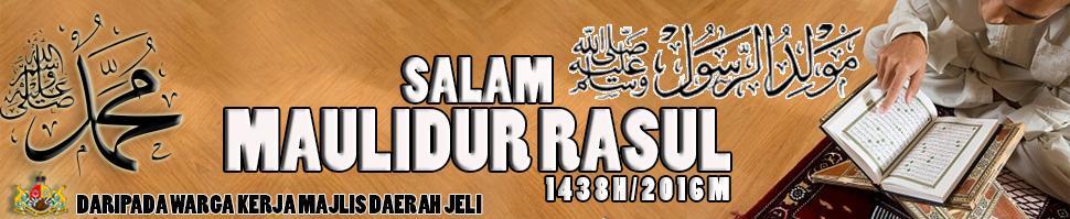 Salam Maulidur Rasul 1438H/2016M